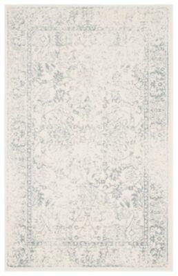 Ashley Furniture Accessory 3' x 5' Area Rug, Gray/White