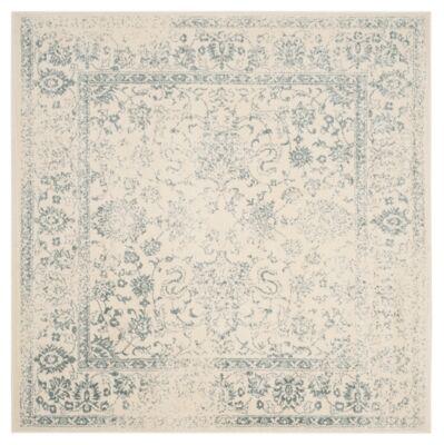 Ashley Furniture Accessory 8' x 8' Square Rug, Gray/White
