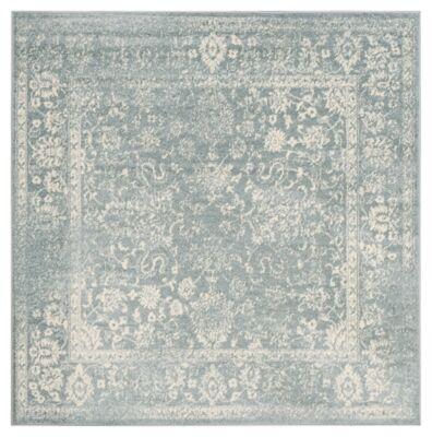 Ashley Furniture Accessory 6' x 6' Square Rug, Gray/White
