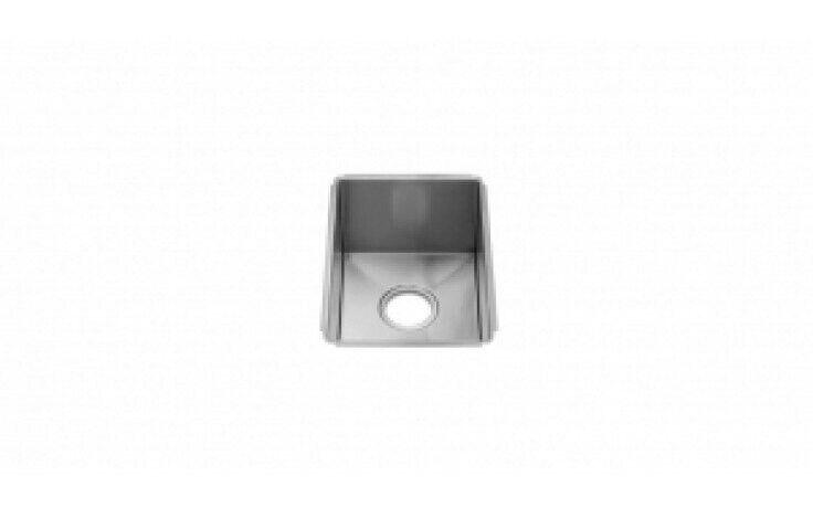 Julien Sinks Julien 003903 16ga Stainless Steel J7 Collection Undermount Sink Single Bowl