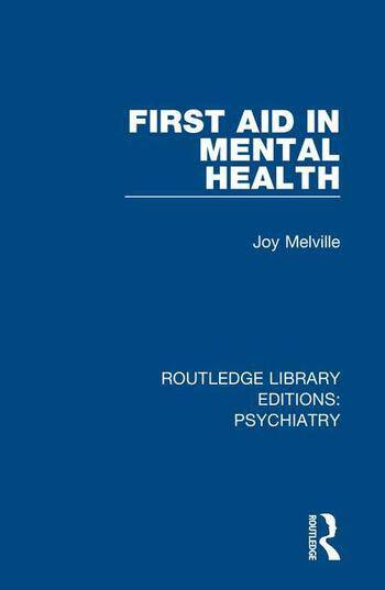 Routledge First Aid in Mental Health