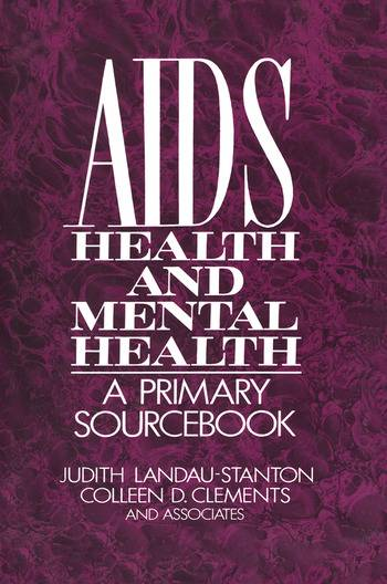 Routledge AIDS  Health  And Mental HealthA Primary Sourcebook
