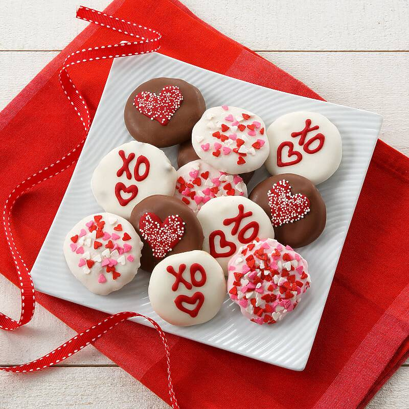 Lots of Love Belgian Chocolate Nibblers   Mrs. Fields   12...