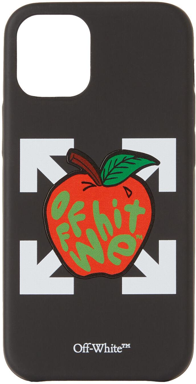 Off-White Black & Red Apple iPhone 12 Mini Case  - BLACK RED - Size: UNI