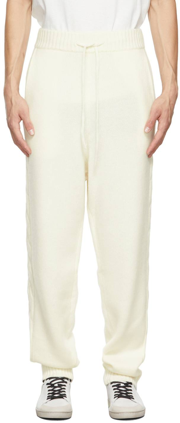 Nahmias Off-White Full Fashion Lounge Pants  - IVORY - Size: 36