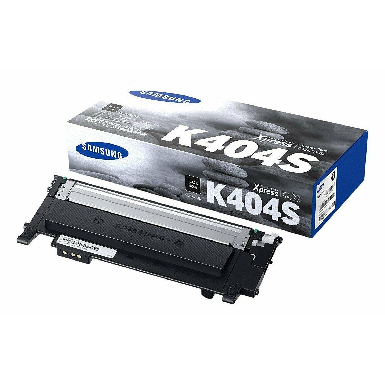 Samsung CLT-K404S Black Toner Cartridge Genuine for SL-C430W, C480FW