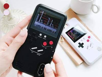 Retro Gaming Case 36 Games in 1 for iPhone and Samsung Phone