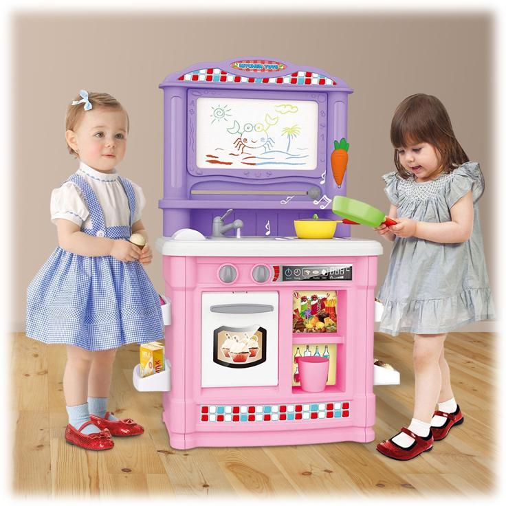 DailySale Toy Chef Kids Kitchen Toy Play-set Kitchen