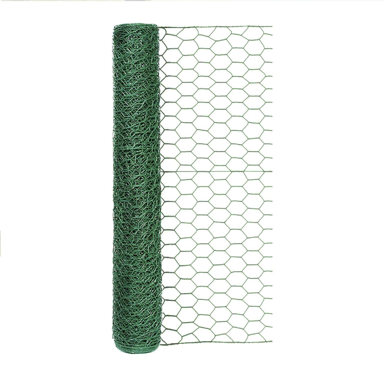 Garden Craft 24 in. H X 25 in. W 25 ft. Steel Poultry Netting