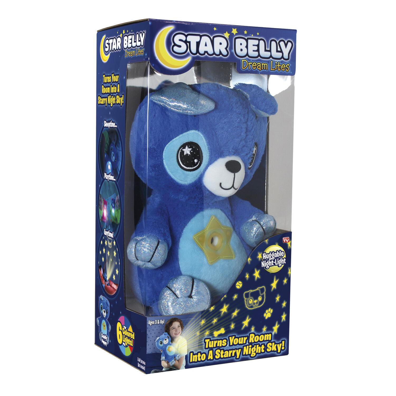 Star Belly Dream Lites Puppy Night Light Plush Blue