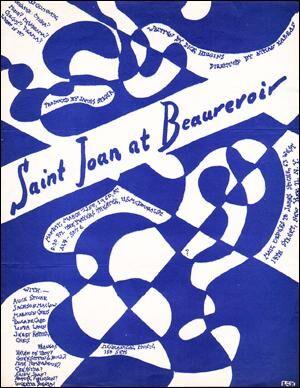 Saint Joan at Beaurevoir Dick Higgins, James Spicer, Athan Karras, Alice Spivak, Jackson Mac Low, Ma