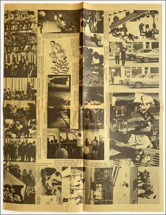 Fluxus Vaudeville TouRnamEnt Fluxus newspaper no. 6 / The Perpetual Fluxfest at New Cinematheque Rob