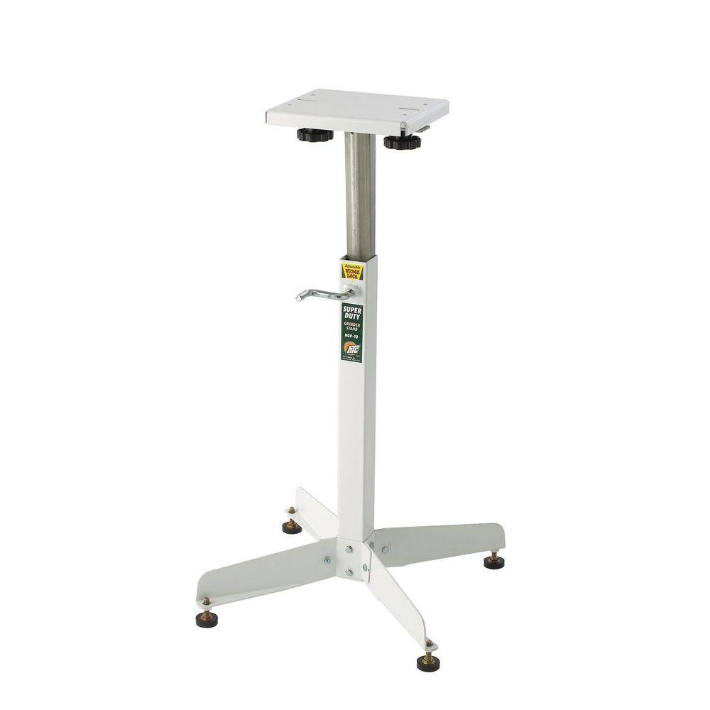 HTC 8.5 in. x 9.5 in. H Powder Coated Steel Grinder Stand