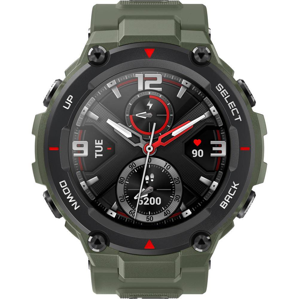 Amazfit T-Rex Smartwatch and Activity Tracker - Army Green
