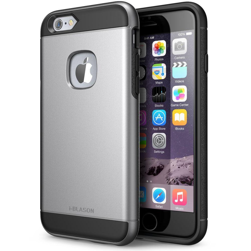 I-BLASON, INC i-Blason Unity Series Case for Apple iPhone 6/6S, Gunmetal, Grey