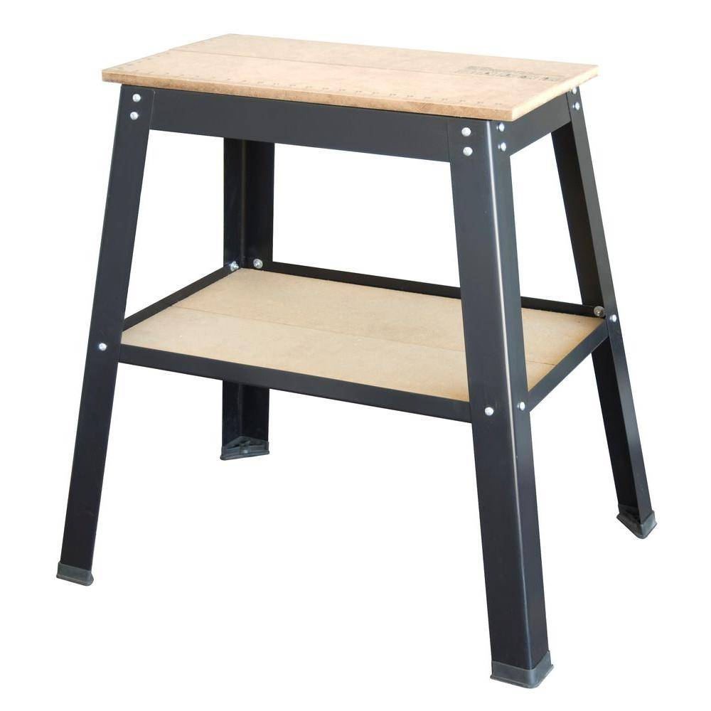 31 in. Tool Table for Power Bench Top Tools