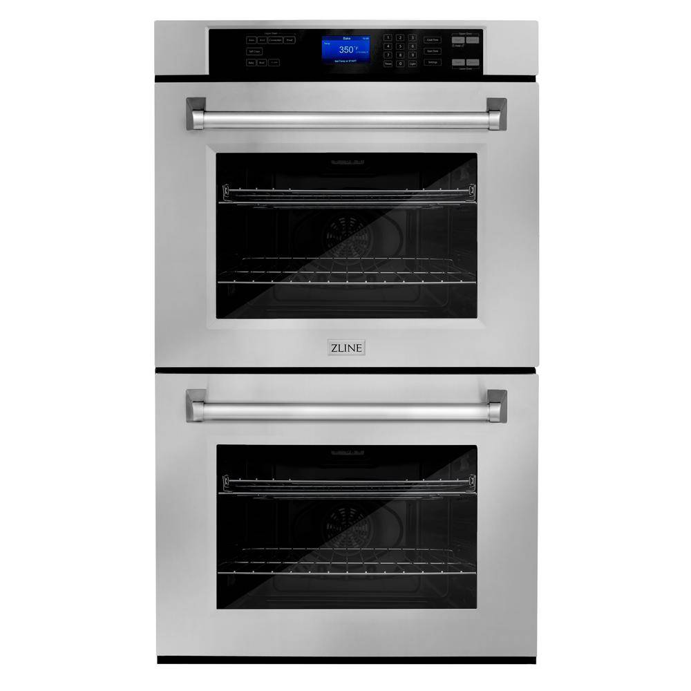 ZLINE Kitchen and Bath ZLINE 30 in. Professional Double Electric Wall Oven in Stainless Steel, Silve