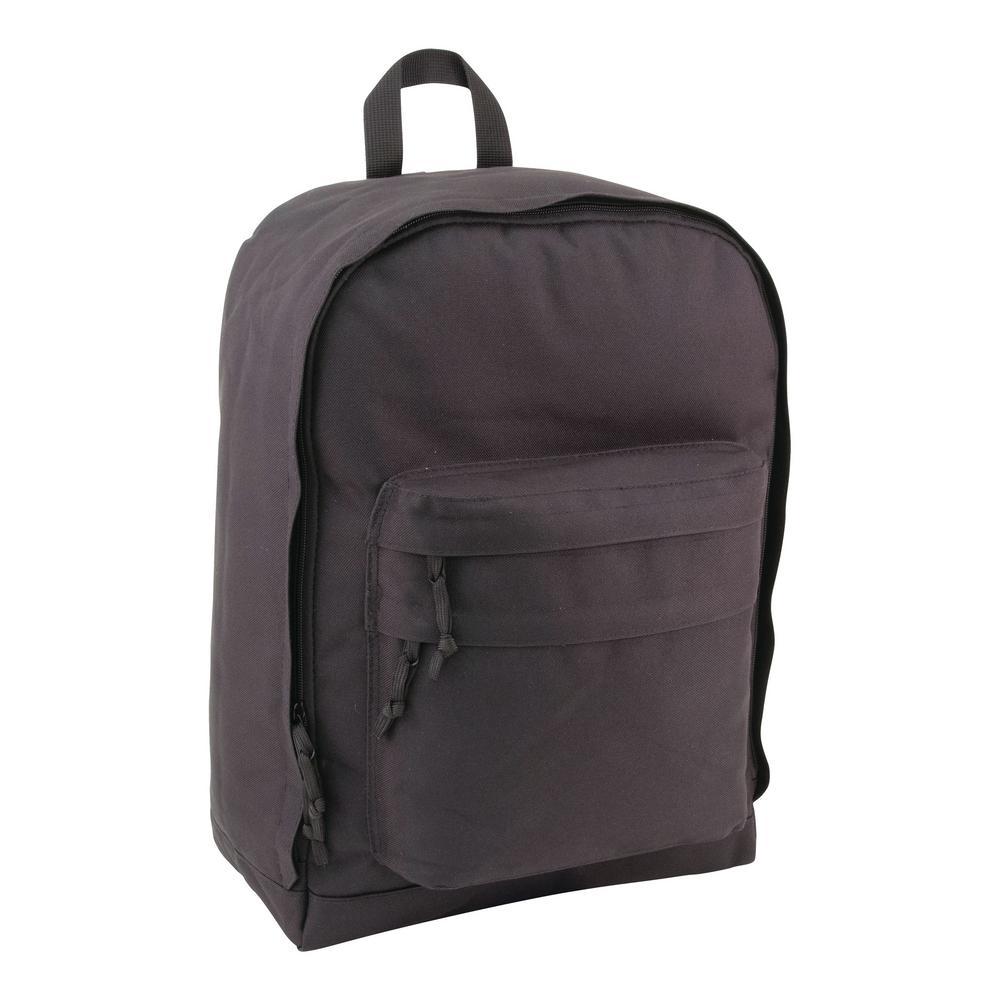 Luggage 18 in. Backpack, Black