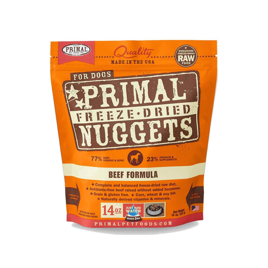 Primal Pet Foods Freeze-Dried Nuggets Dog Food
