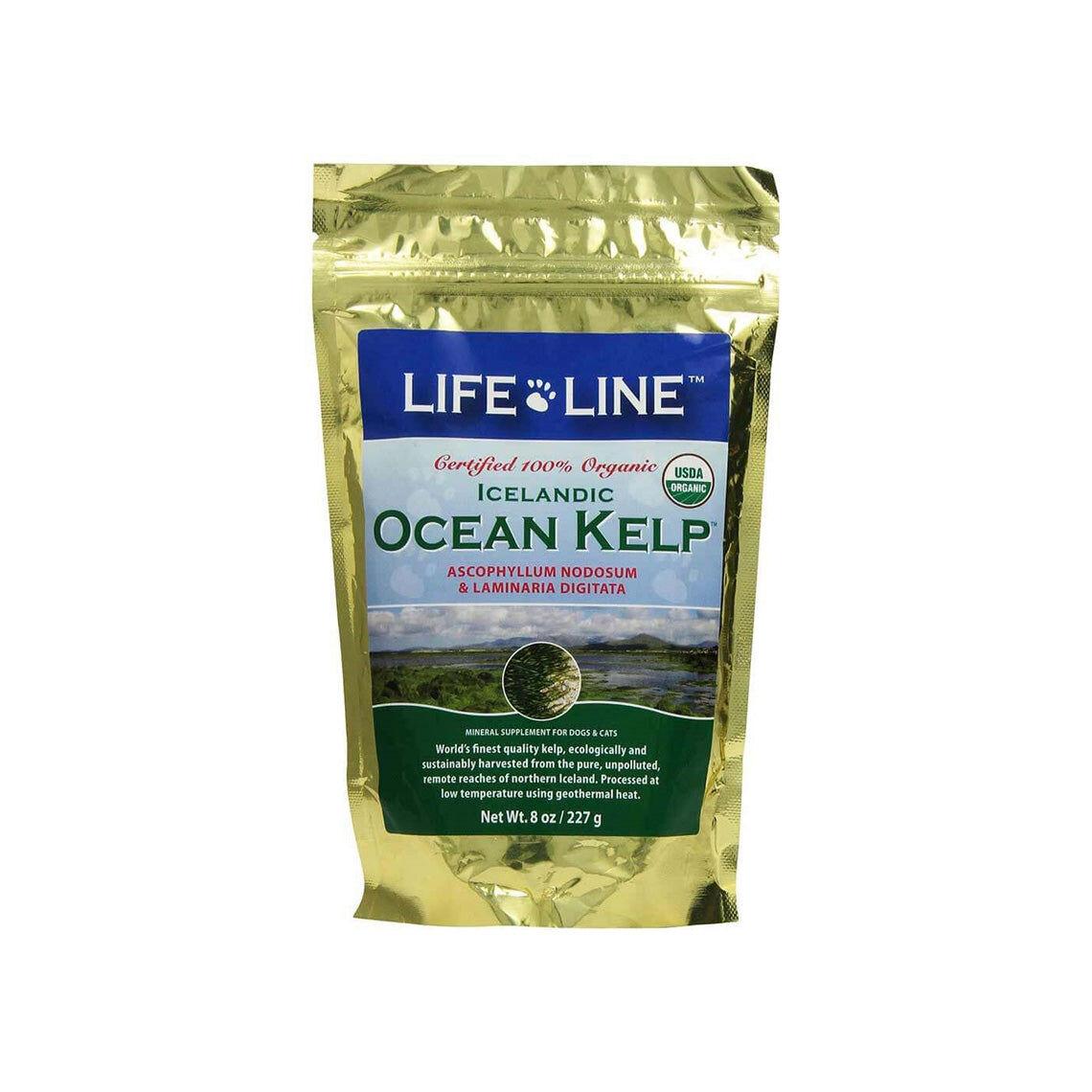 Life Line Pet Nutrition Organic Ocean Kelp 8 oz