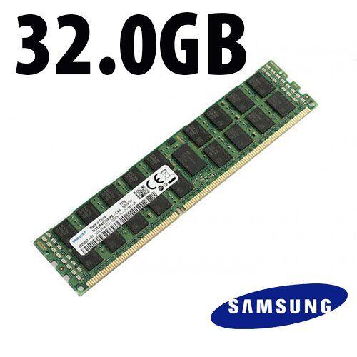 Samsung 32.0GB Samsung Factory Original 4Rx4 PC3-12800R -11-13 DDR3 1600MHz Memory Module SAM393B4G7