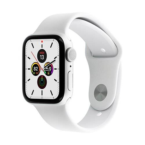 Apple Watch Series 5 GPS 40mm Silver Aluminum Case with White Sport Band UIAF1E01A2XXXXA