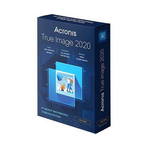 Acronis True Image 2021 Perpetual License for 1 Computer - Retail Box ACSBOXTIH4B2ENS
