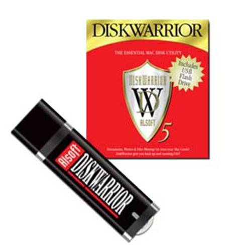 Alsoft DiskWarrior 5 for Intel Mac systems running Mac OS X versions 10.5.8 to 10.15.7 (not for MacO