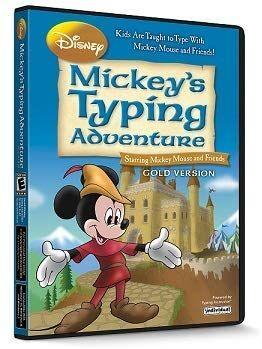 INDIVIDUAL SOFTWARE EVM MMTG Mickeys Typing Adventure Gold - Mac