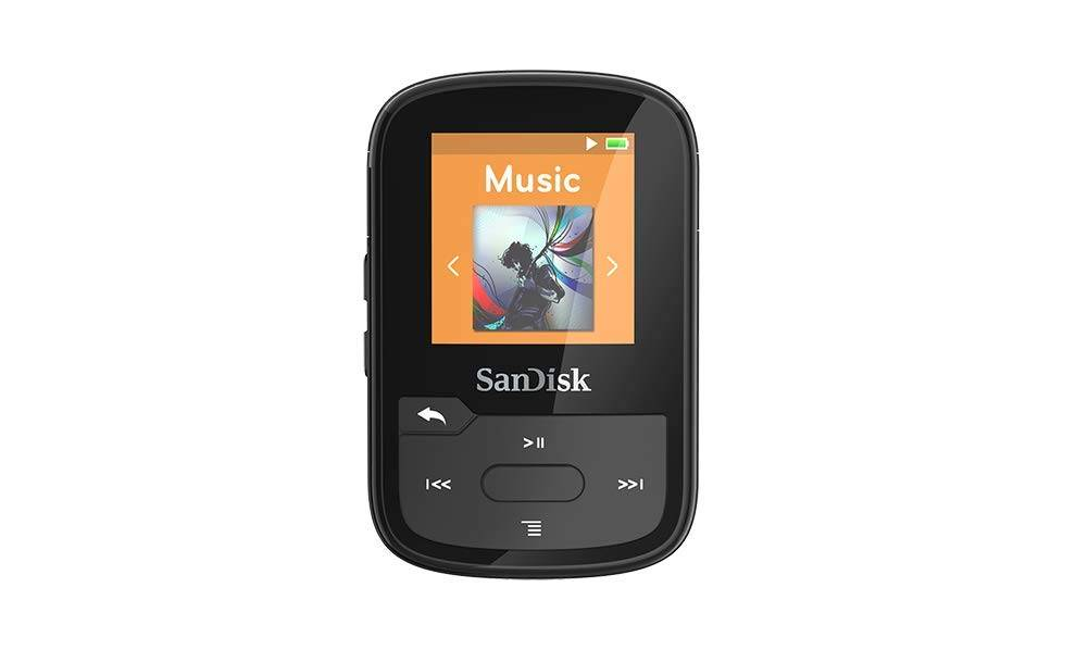 SanDisk SDMX28-016G-G46K 16GB Clip Sport Plus, Black