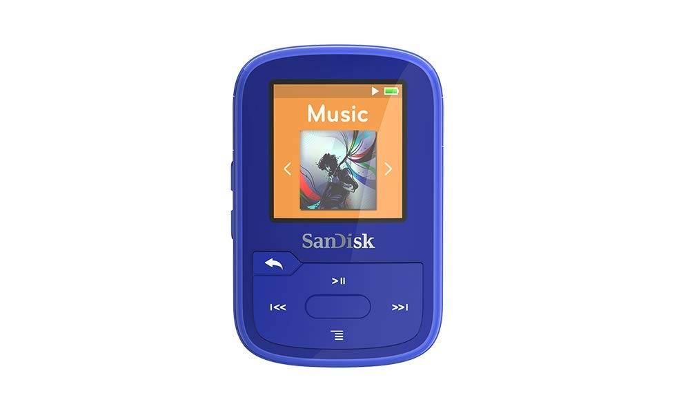 SanDisk SDMX28-016G-G46B Clip Sport Plus Blue Global