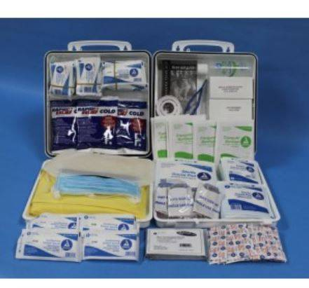 Kemp Usa 10-712 State of NJ Pool First Aid Kit for Pools Larger Than 5000 sq ft.
