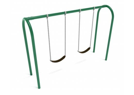 Playground Equipment PSW005NS 1 Bay - Frame Only with Hangers Playground Accessories