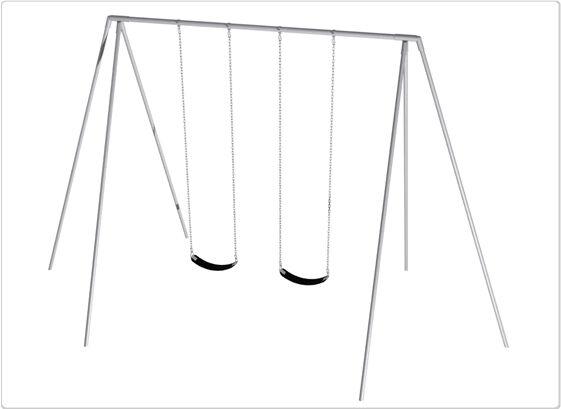 SportsPlay 581-222F 12 ft. 2 Seat Primary Tripod Swing Frame & Hanger