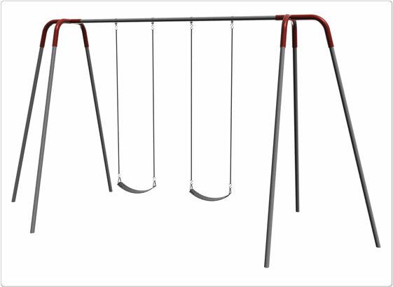 SportsPlay 581-230F 10 ft. 2 Seat Modern Tripod Swing Frame & Hanger