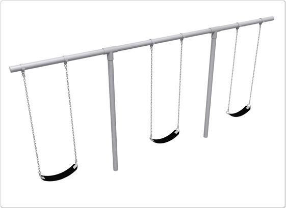 SportsPlay 581-353H 3 Seat Heavy Duty T Swing Frame & HD Hanger