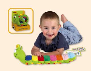 Toyopia Melody Snaily Car Seat Toy