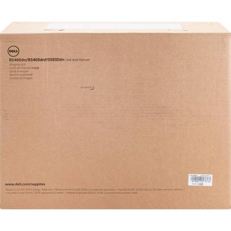 100,000-Page Imaging Drum for Dell B5460dn/ B5465dnf Laser Printers