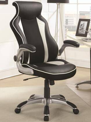 Coaster 800048 Office Chairs Collection Office Task Chair with Race Car Seat Design  360 Degree Swiv