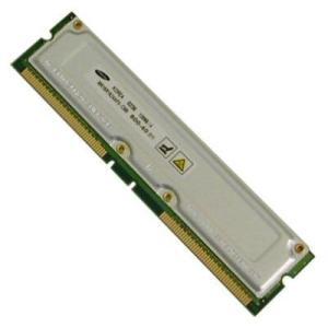 256Mb Samsung PC800 Rambus RDRAM module