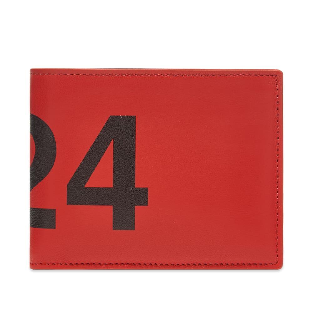 424 Logo Fold Wallet  Red