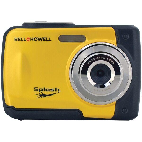 BELL+HOWELL WP10-Y 12.0-Megapixel WP10 Splash Waterproof Digital Camera (Yellow)