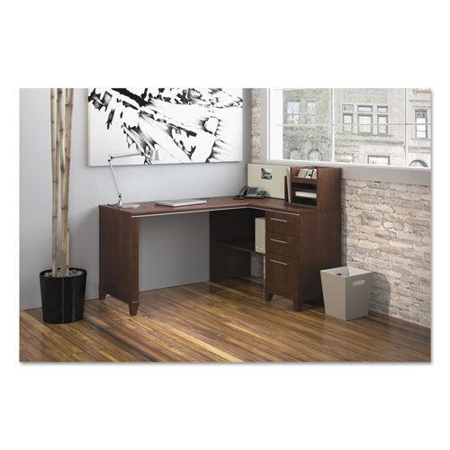 BUSH FURNITURE 2999CSA1-03 60 INCHW x 47 INCHD Corner Desk Solution (Box 1 of 2) Enterprise: Harvest