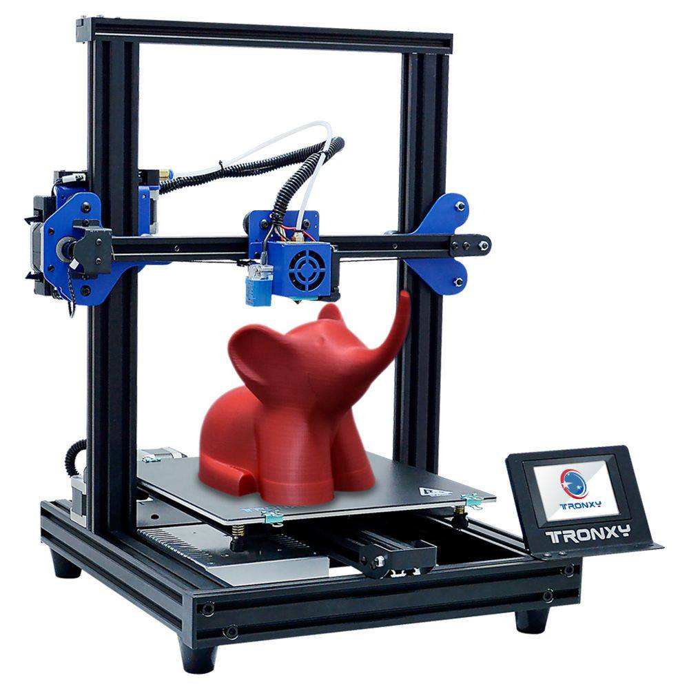 TRONXY XY-2 Pro 3D Printer 255 x 255mm x 260mm 3.5'' Touch Screen Fast Assembly Resume Printing for