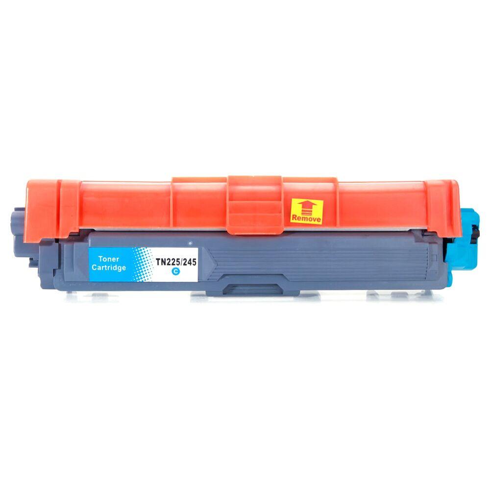5PCS TN221 Brother Toner Cartridge 2BK / 1C / 1M / 1Y Anti-fading Document Image Printing - Black