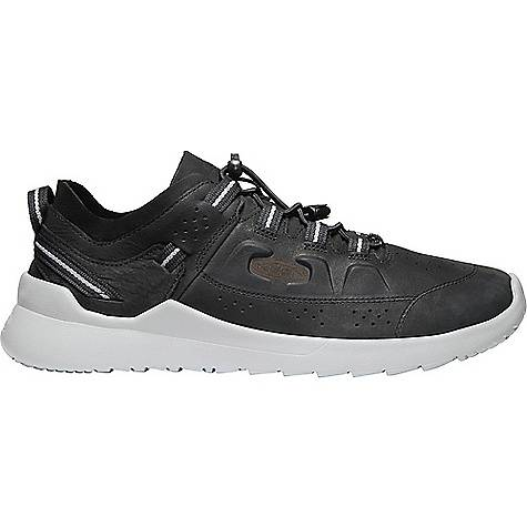 KEEN Men's Highland Suede Low Profile Fashion Sneakers New Black / Drizzle
