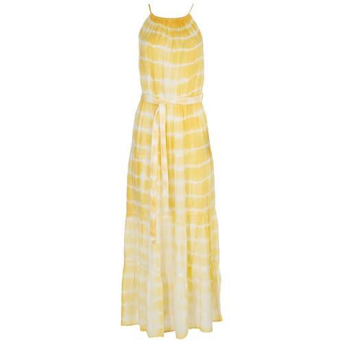 Millenium Clothing Inc. Womens Maxi Dress -Yellow
