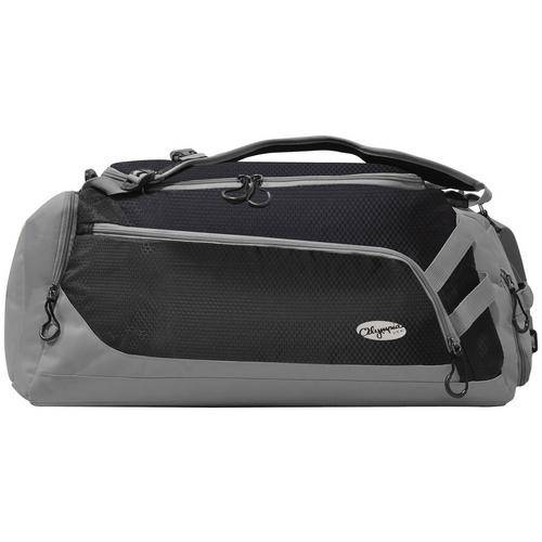Luggage Blitz Gym Duffel With Backpack Straps -Black
