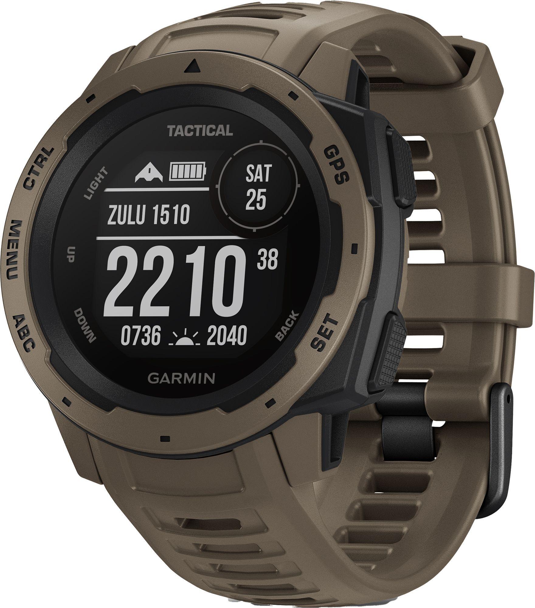 Instinct Tactical Smartwatch, Tan