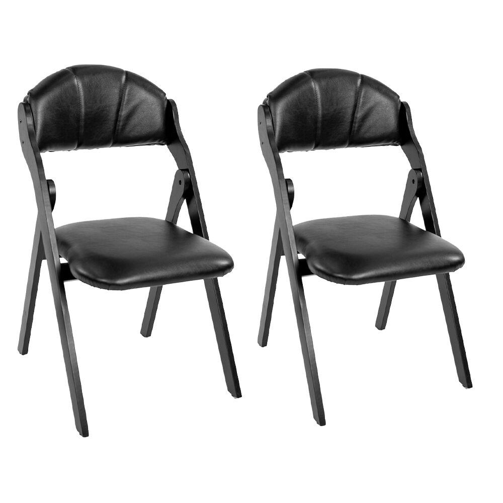 Allure Furniture Church Folding Chairs, pair